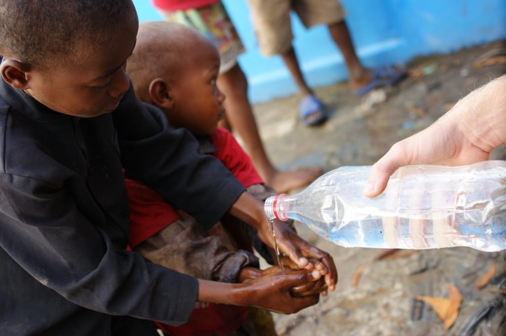 Higiena i mycie rąk na Madagaskarze